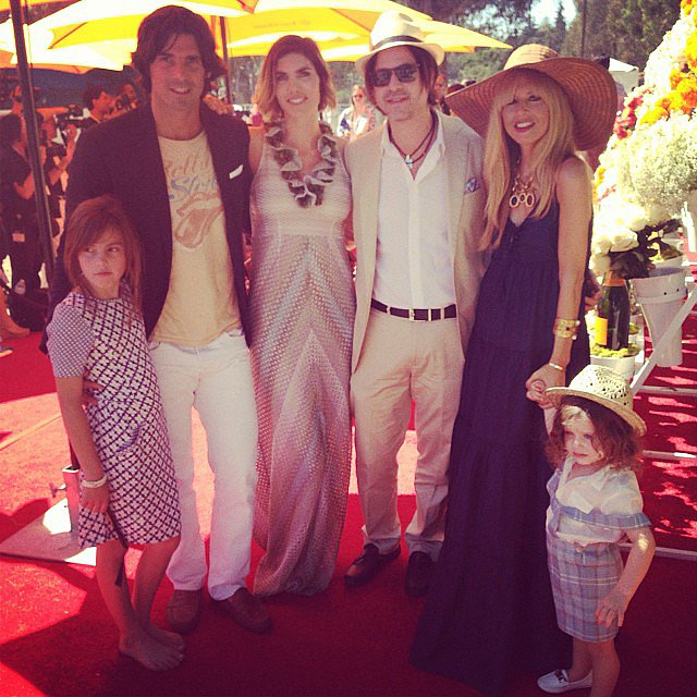 Skyler Berman attended one of the social events of the season — the Veuve Clicquot polo match — with his parents. Source: Instagram user Rachel Zoe