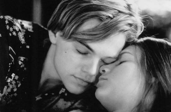 Romeo + Juliet, starring Claire Danes and Leonardo DiCaprio, brought Shakespeare's doomed romance to the 20th century in 1996. The Verona Beach-based film stayed true to the original plot but added guns and drugs for a more modern take. Claire wore brunette hair straight down for the role, with a focus on her natural beauty.  Source: Bazmark Films