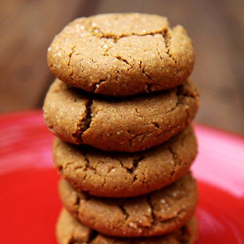 Ginger Spice Molasses Quinoa Cookies