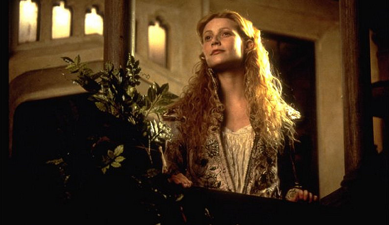 So, technically Gwyneth Paltrow didn't play Juliet for long in the Oscar-winning Shakespeare in Love, but the story within a story is one no fan of Shakespeare can easily forget. Her tousled, blond waves were unique for Juliet.  Source: Miramax