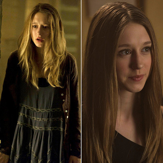 Taissa Farmiga Farmiga portrayed Violet Harmon, the teen trapped in her family's haunted house, in the first season. She's back again pursuing the love of Evan Peters's character as young witch Zoe Benson in Coven.