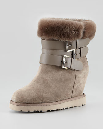 Shearling/Furry Boot