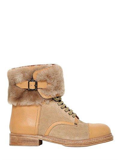 Shearling/Furry Boot