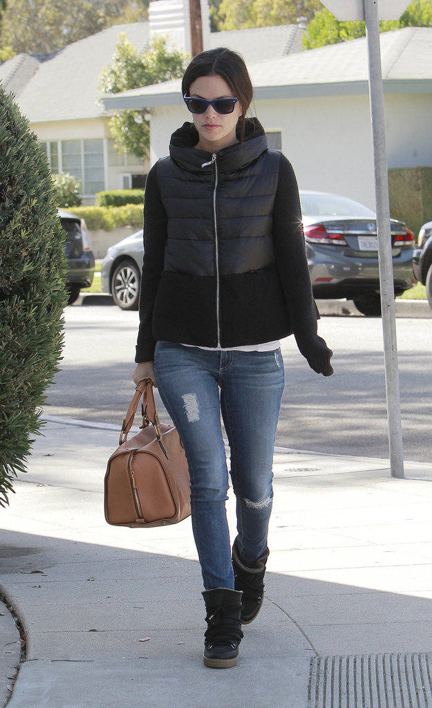 Rachel Bilson made a shopping trip in LA.