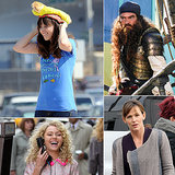 Zooey Deschanel Rocks a Hot-Dog Hat, and More Stars Having Fun on Set