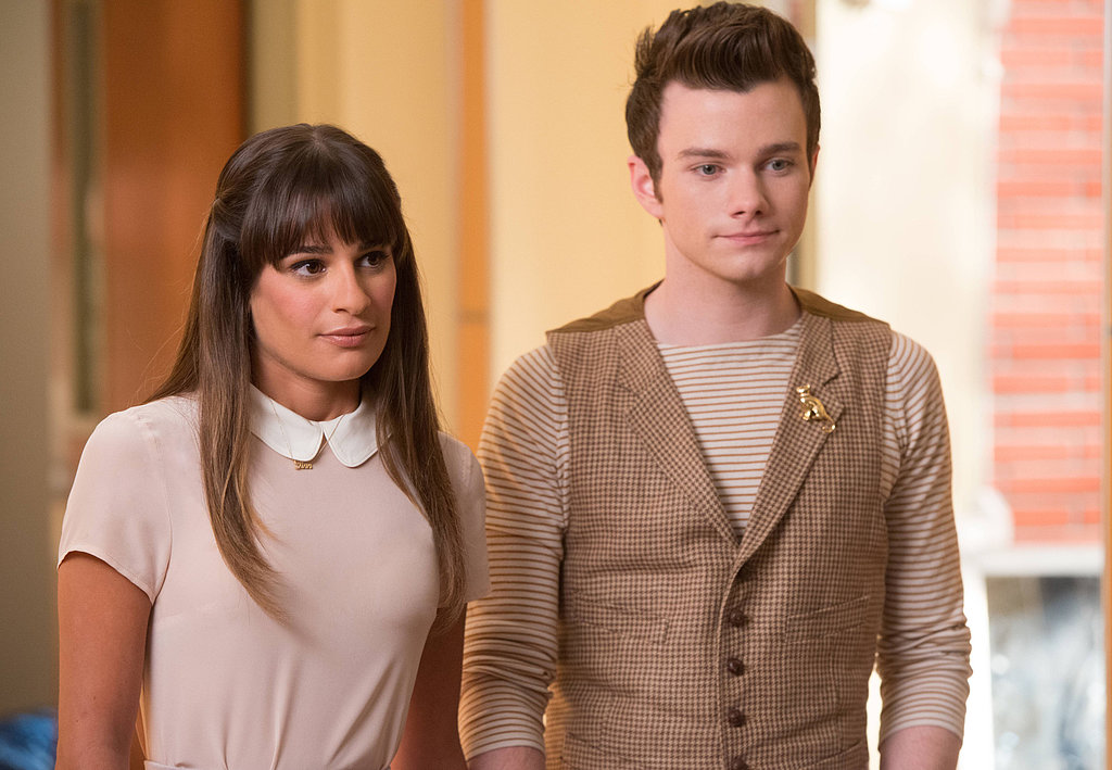 Rachel joins Kurt in Lima to celebrate Finn's life.