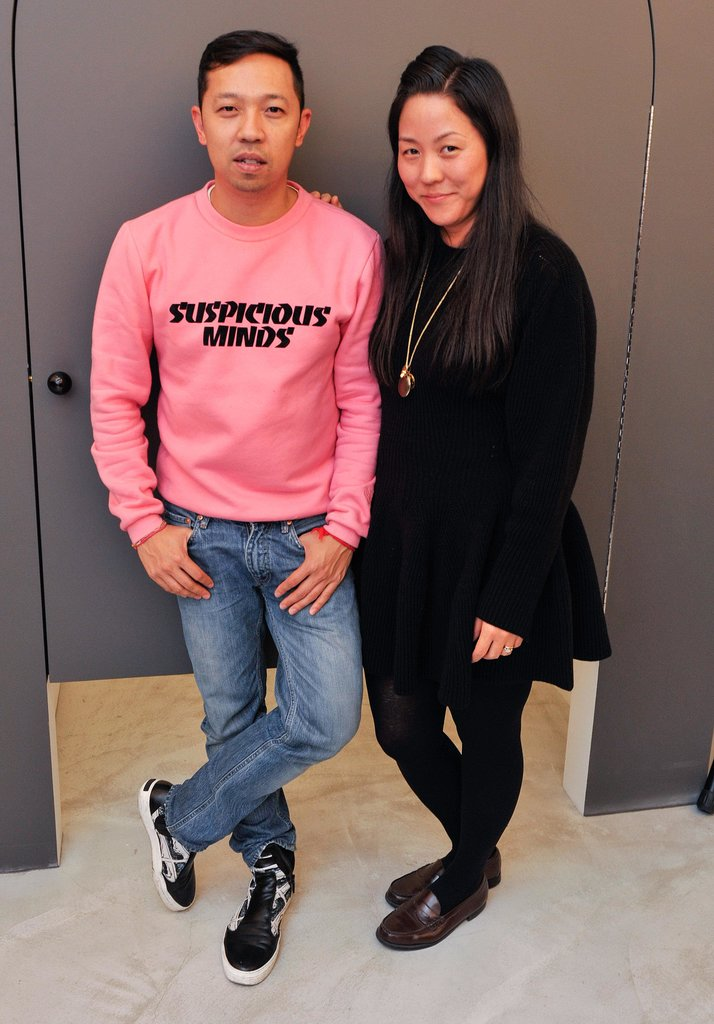 Humberto Leon and Carol Lim previewed the COS Opening Ceremony pop-up in SoHo.
