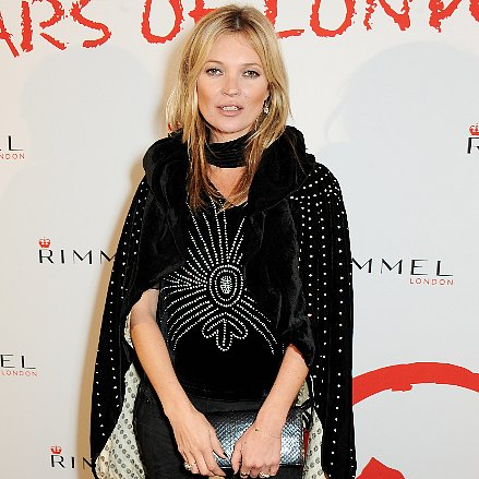 Kate Moss at Rimmel London 180 Years of Cool Party