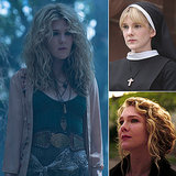 Lily Rabe Lily Rabe is currently starring as Misty Day, a witch with the powers to bring animals back from the dead, on Coven. Last season, she terrified us all as the possessed Sister Mary Eunice, and before that, she was Nora Montgomery, a mother haunted by the death of her child on the first season.