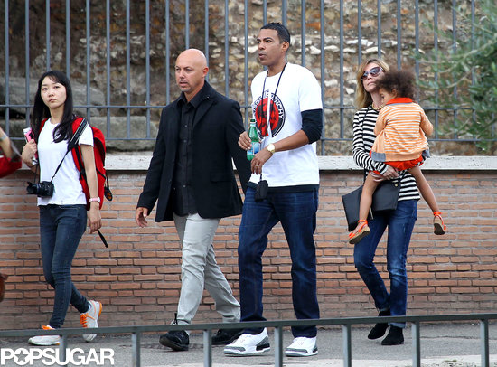 Roman Holiday: Ellen Pompeo and Her Family Play Tourists in Italy