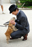 He's Adorable With Dogs
