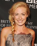 Twist your pieces before braiding them to achieve Cat Deeley's pretty plait.