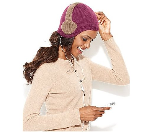 Keep jammin' to music as the temps cool down with this headphones hat ($48) that even comes with its own pair of headphones.