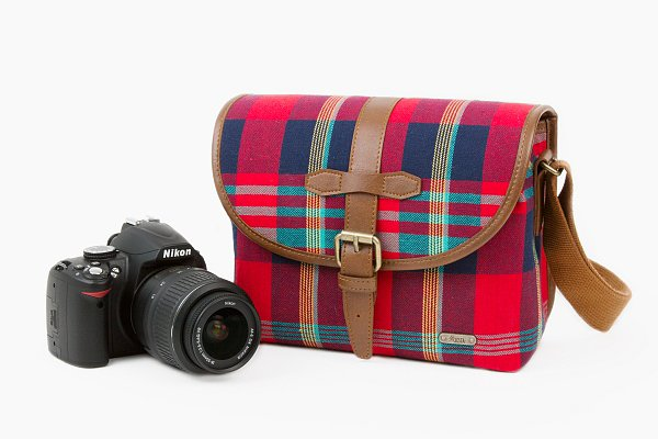 We can't say enough good things about this plaid camera satchel ($75), perfect for helping you snap all those stellar Fall photos.
