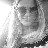 Brooklyn Decker couldn't hide behind her oversize shades. Source: Instagram user brooklynddecker
