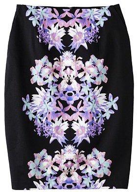 Mossimo® Women's Zipper Pencil Skirt - Assorted Colors