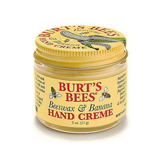 October is the time to stock up on lotion, and of all our drugstore-favorite hand creams, this Burt's Bees Beeswax & Banana Hand Creme was the fan favorite.