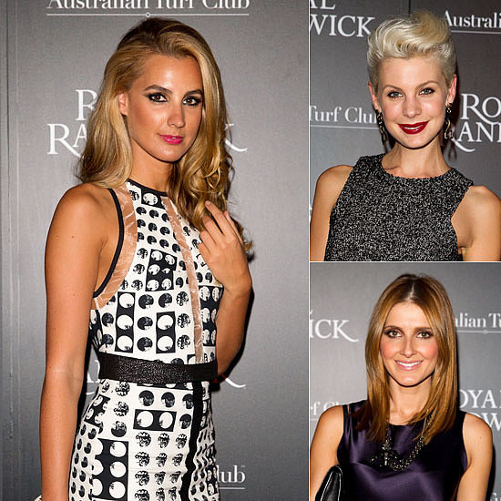 Laura Dundovic, Rachel Griffiths, Kate Waterhouse & More For the ATC Grandstand Gala Launch