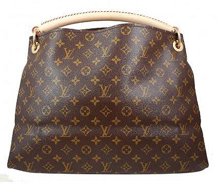 pristine (PR) Louis Vuitton Monogram Artsy MM Hobo Tote Bag