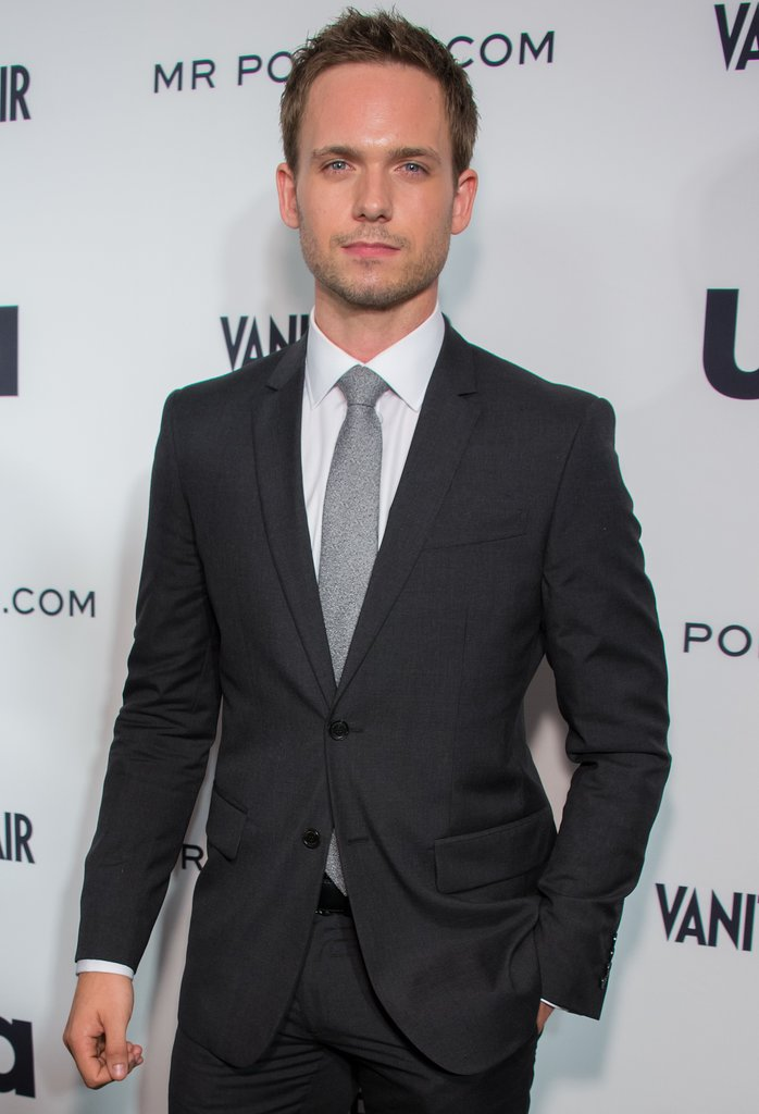 Patrick J. Adams Adams has a boyish look, which would work well for those moments in which Christian needs to charm — and come on, we know he looks great in Suits.