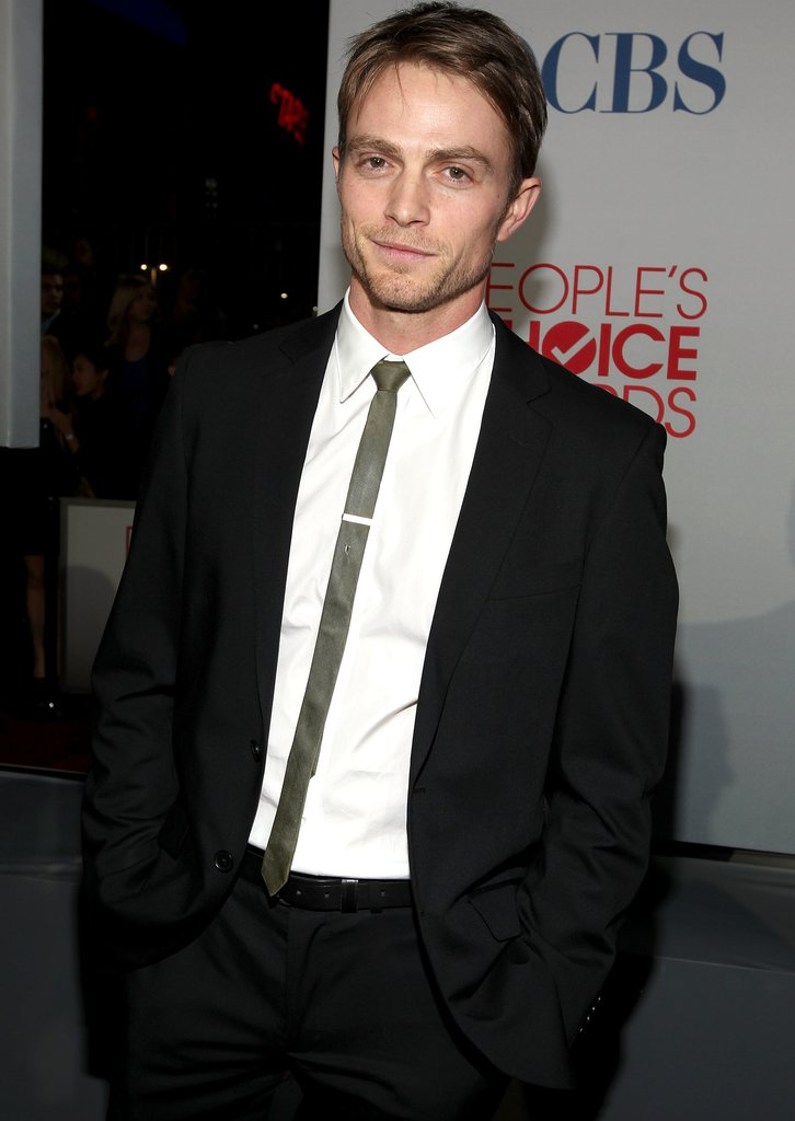 Wilson Bethel The Hart of Dixie star is a small-screen seducer as Wade, and as we've seen on TV, he is very comfortable taking his shirt off.