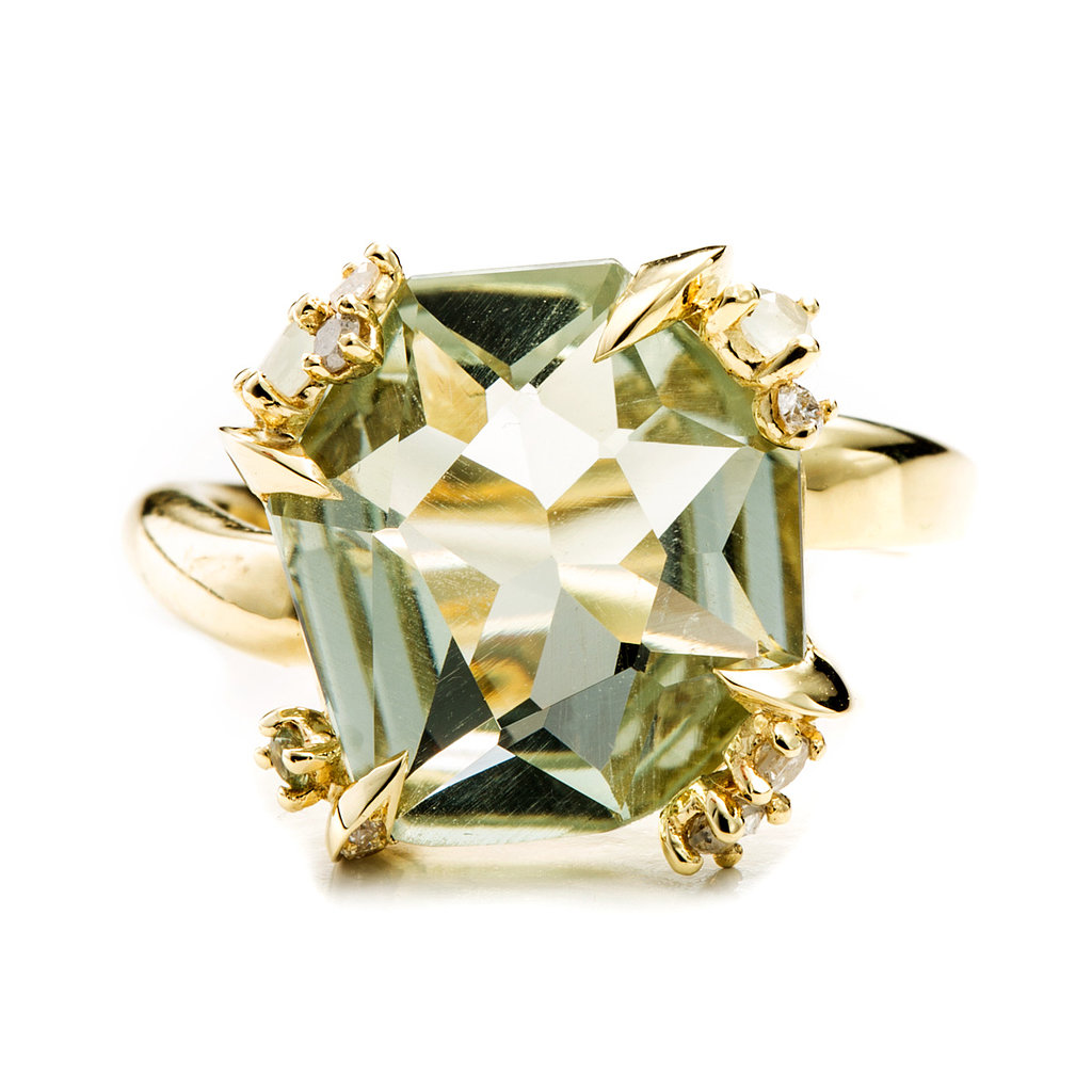 Alexis Bittar Fine Water Marquis Fancy Cut Ring ($1,995) Photo courtesy of Alexis Bittar