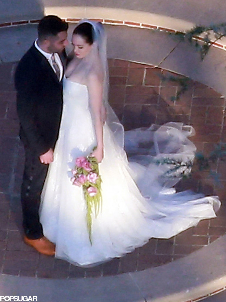 Rose McGowan got married in LA on Saturday.