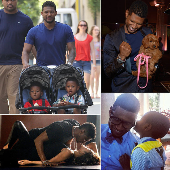 Happy Birthday Usher — See His Sweetest and Sexiest Moments!