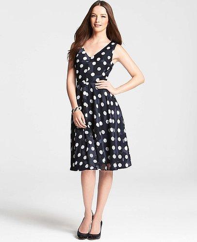 Tall Derby Polka Dot Dress