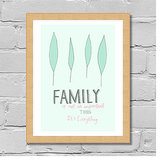 Family Is Everything Print