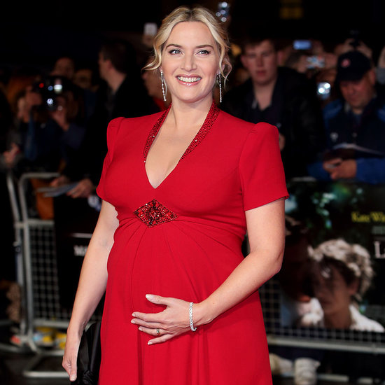 Pregnant Kate Winslet at 2013 London Film Festival