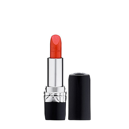 Want satin finish with a luxury twist? Sweep on Rouge Dior Couture Color Voluptuous Care Lipstick ($34).