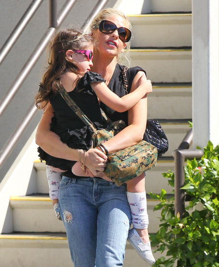 Sarah Michelle Gellar picked Charlotte up from ballet on Friday in LA.