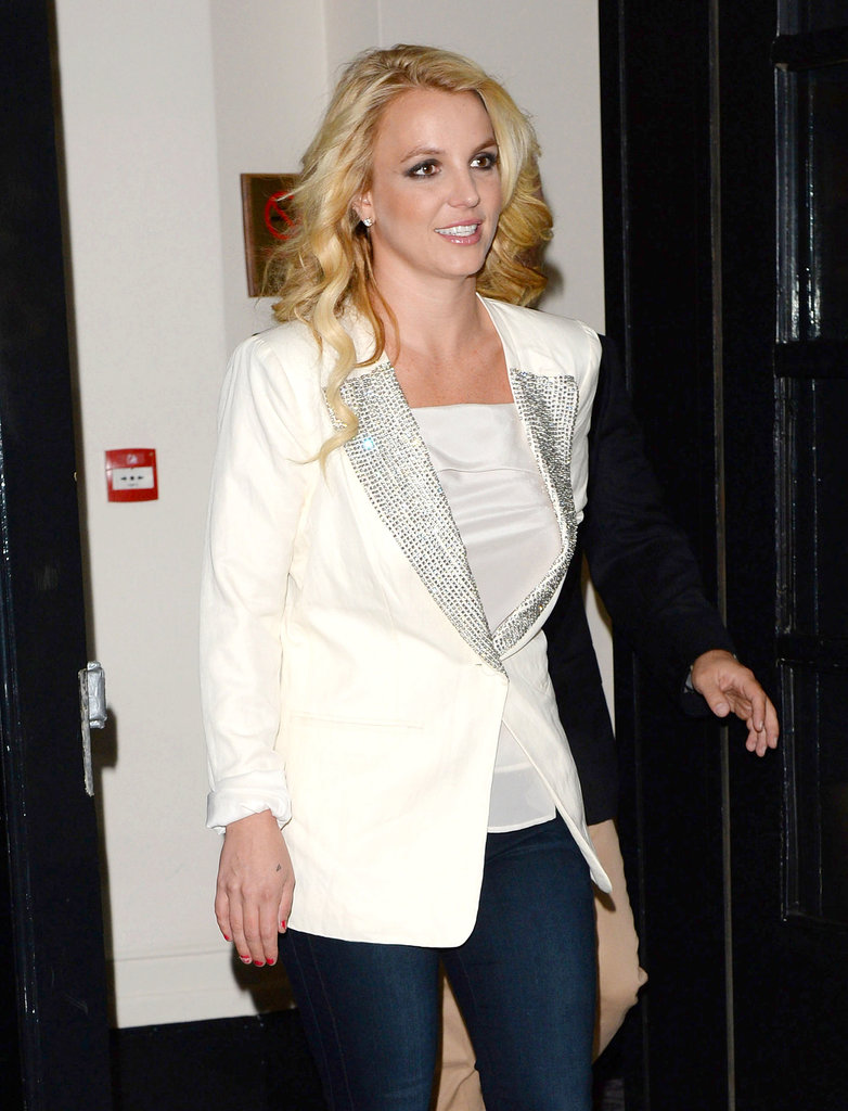 Britney Spears stepped out in London.