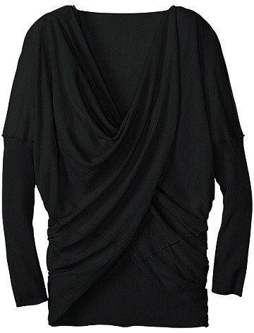 Modern Wrap Sweater