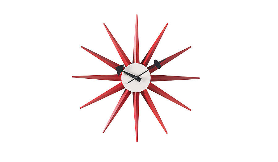 As beautiful now as it was the day it debuted in 1948, the Nelson Sunburst Clock ($366, originally $430) is a great finishing touch to any midcentury interior.