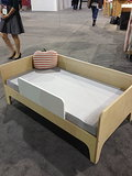 Oeuf's new Perch toddler bed will be available in walnut or birch.
