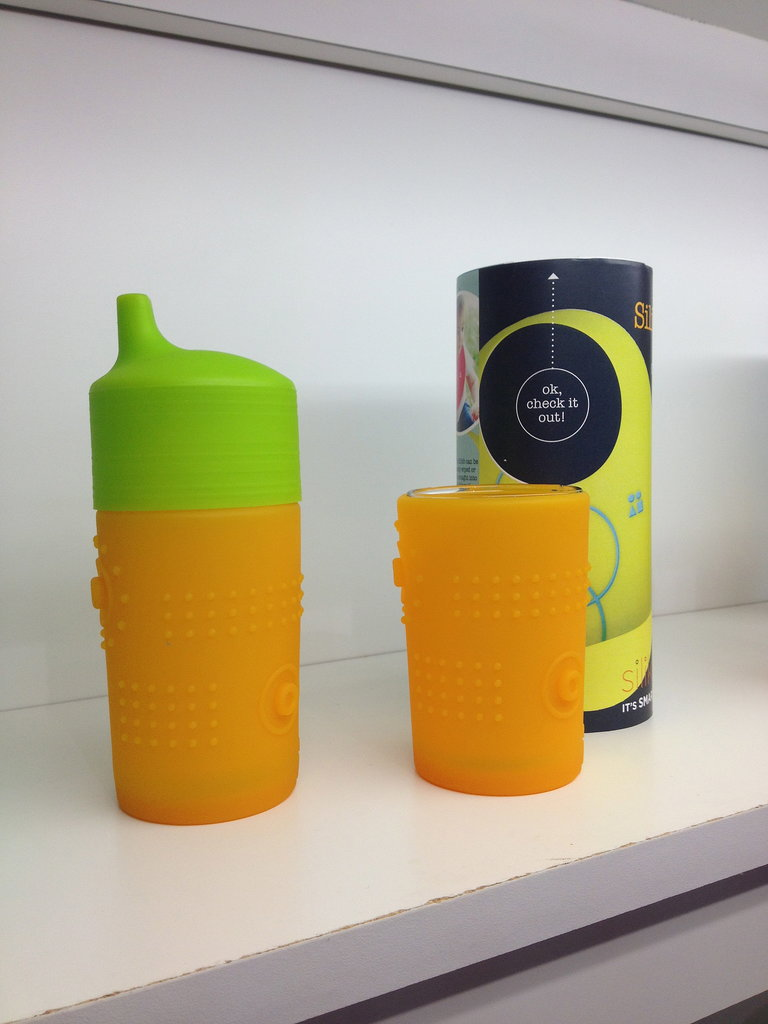 Silikids will introduce a sippy cup top that pairs with its drinking glass covers.