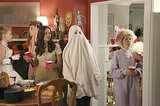 The Goldbergs Beverly (Wendi McLendon-Covey) shows up in disguise as a ghost.