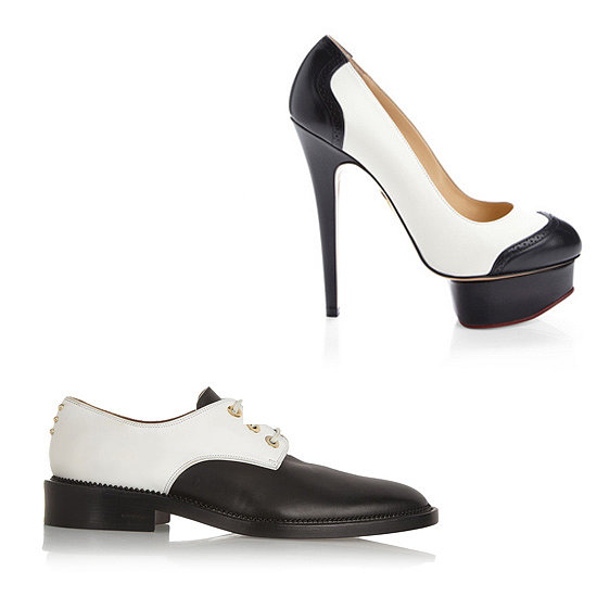 Above: Charlotte Olympia Spectator Dolly Leather Pumps ($895) Below: Givenchy Rounded Derby Flats ($950) Related: 10 Best Ankle Boots