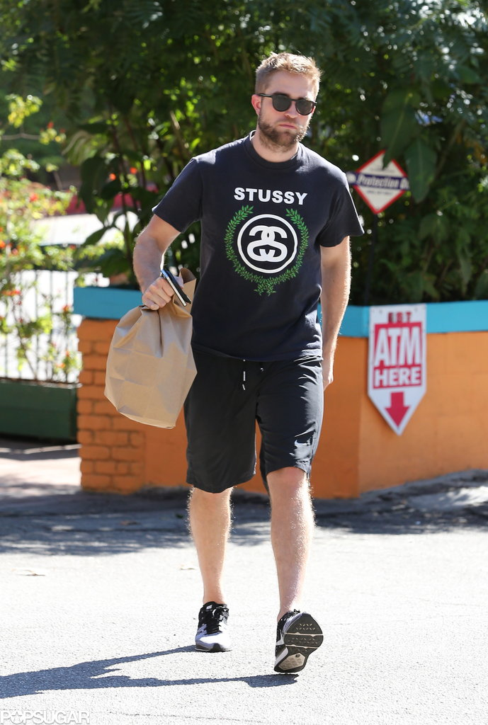 Robert Pattinson wore a Stussy t-shirt.