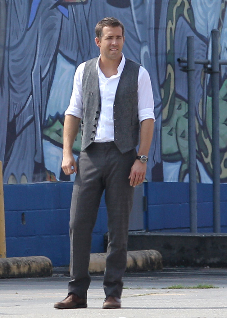 Ryan Reynolds was on set in New Orleans.