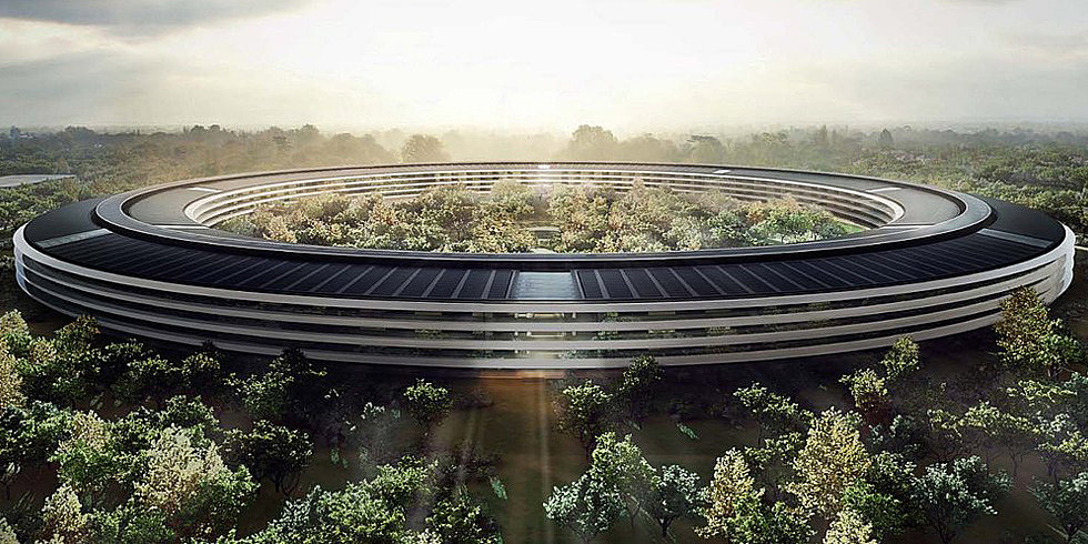 The Future Is Now: 6 Tech Companies' Plans For Unbelievable New Digs