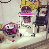 Baby Trend is introducing a Hello Kitty line that includes bouncers, high chairs, strollers, car seats, and more!