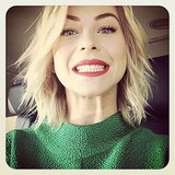 Julianne Hough showed off her pearly whites. Source: Instagram user juleshough