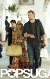 Jessica Simpson and Eric Johnson Sneak In Some PDA in Capri