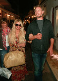 Jessica Simpson and Eric Johnson vacationed together in Italy on Wednesday.