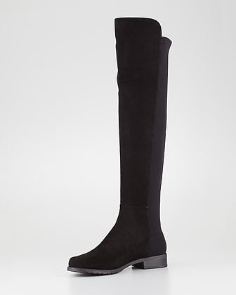 Stuart Weitzman 50/50 Stretch Over-the-Knee Boot