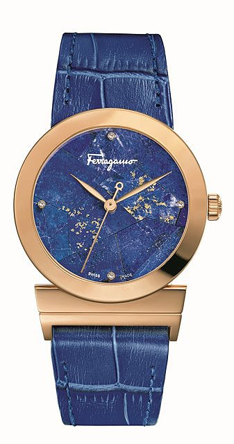 A watch from Salvatore Ferragamo's Hollywood collection. Photo courtesy of Salvatore Ferragamo