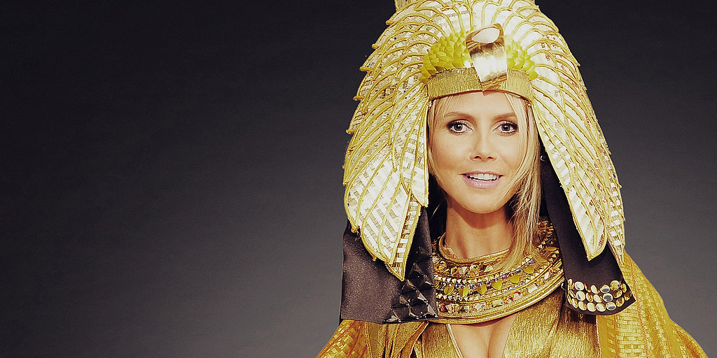 Throwback Thursday: Heidi Klum's Epic Halloween Makeup